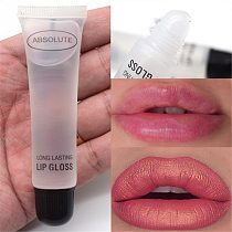 Sexy Big Lips Plumper Moisturizer Plumper Lip Gloss Long Lasting Big Lips Pump Transparent Waterproof Volume Lip Clear Lip Oil