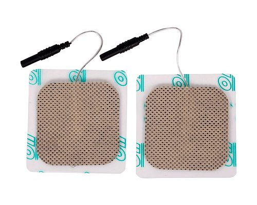20pcs/lot(10 pairs) 5*5cm Safe Electrode Pads for SDZ-II SDZ-III Electronic Acupuncture Stimulator Therapy Machine