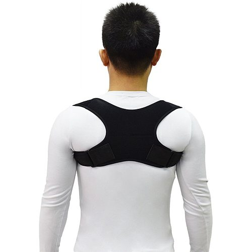New Upper Back Posture Corrector Posture Clavicle Support Corrector Back Straight Shoulders Brace Strap Correct