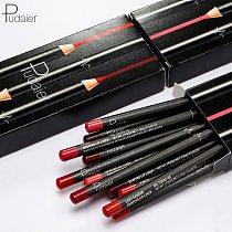 Brand 12pcs Matte Lip Liner Set Long Lasting Matt Smooth Pencil for Lip Contour Lipline Multi-Functional Makeup Cosmetics Pen