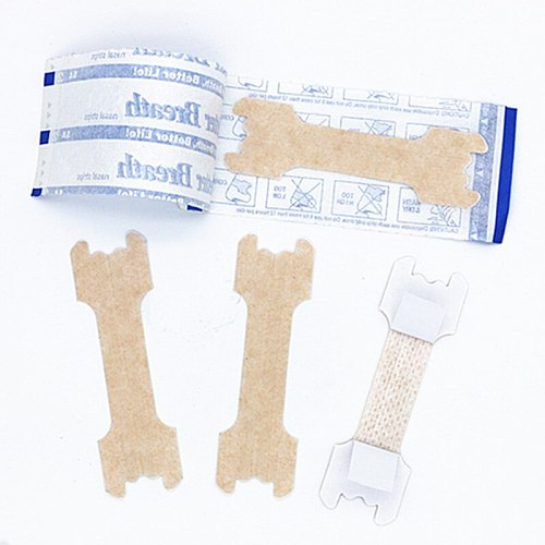 4000pcs/lot (55x16mm) Snoring Stopping Anti Snore Breathe Right Nasal Strips Bluk Help to Breath Well