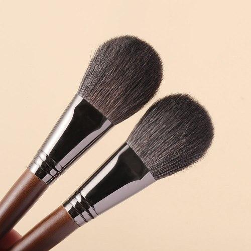 OVW Goat Hair Long Handle Face Makeup Highlighter Blending Brush Blush Brush Concealer Brush Beauty Tools Set