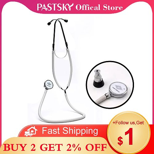 Medical Stethoscope Double Headed Professional Multifunctional Estetoscopio Doctor House Health Monitor Equipment Device