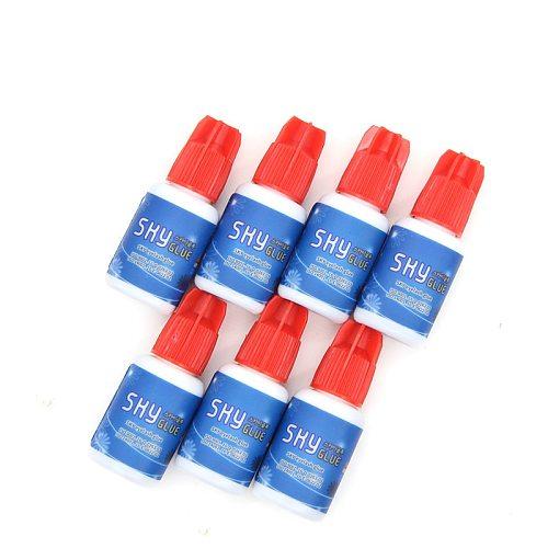 1pcs 5ml Korea Sky Glue RA01 for Eyelash Extensions 0.5s Dry Time Eyelash Extensions MSDS Adhesive Red Cap
