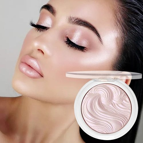 12 Color Highlighter Facial Bronzers Palette Shimmer Pink Powder Makeup Glow Face Contour Illuminator Highlight Pallet Cosmetics