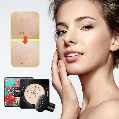 Mushroom Head Air Cushion BB Cream Female Concealer Foundation Cosmetics Breathable Skin-friendly Makeup BB Cream