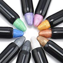 15 Colors Highlighter Eyeshadow Pencil Cosmetic Glitter Eye Shadow Eyeliner Pen Beauty Eyes Makeup #278651