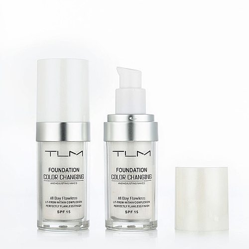 TLM 30ML Magic Color Changing Liquid Foundation Makeup Base Nude Face Cover Concealer Long Lasting Makeup Skin Tone Foundation