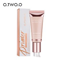 O.TWO.O Makeup Base Face Primer Gel Invisible Pore Light Oil-Free Makeup Finish No Creases Not Cakey Foundation Primer Cosmetic