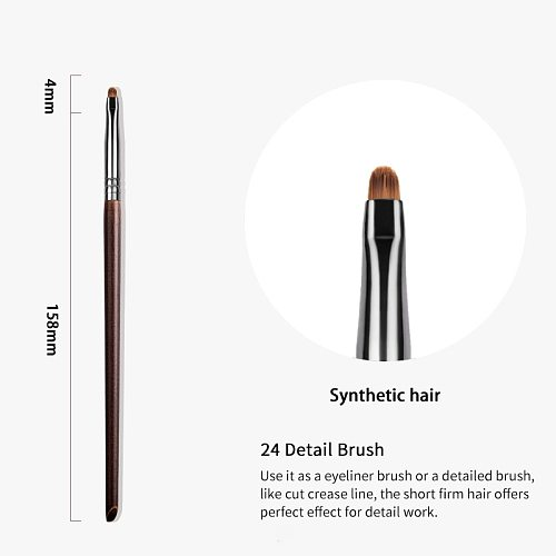 OVW Precision Eyeliner Brush Synthetic Mini Beauty Makeup Liner Brush Fiber Bristles brochas de maquillaje de alta calidad