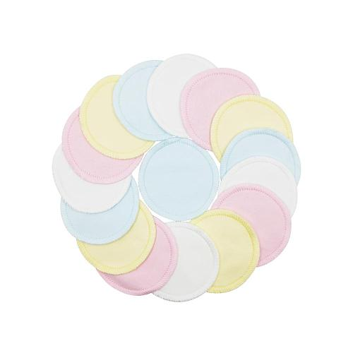 8/12Pcs Reusable 99.9%cotton Makeup Remover Pad Washable Reusable Facial Cleansing Pad Cosmetics Skin Care Tools