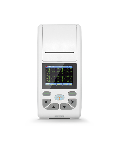 CONTEC LCD Touch Screen Multi-language Display 3/6/12-Channel ECG/EKG Machine Electrocardiograph  ECG90A