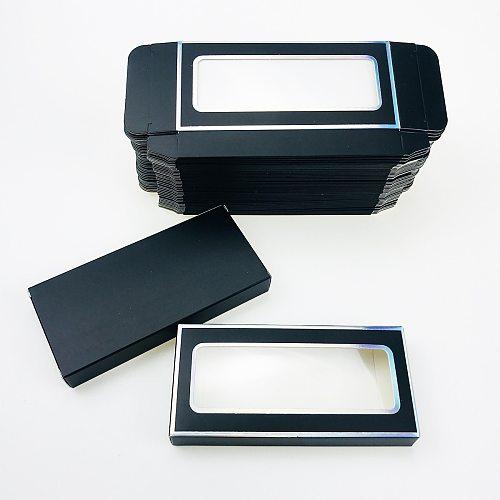 CoMango Eyelash Packaging Box Bulk Wholesale Custom 3D Mink Lashes Boxes Packaging With Logo Makeup Set Eyelashes Case Pack