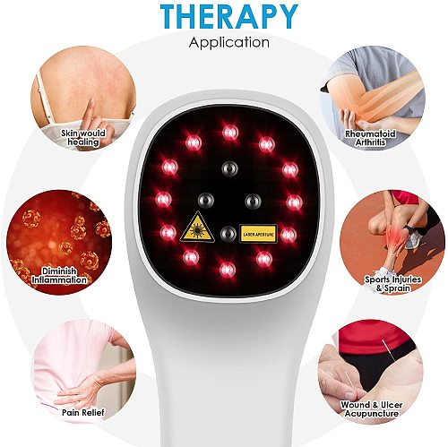 New LLLT 650nm 808nm Cold Light Powerful Handheld Physical Therapy Home Laser Pain Relief Cold Laser Therapy Device
