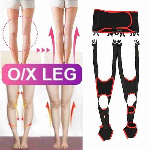O/x Legs Correction Belt Adult Unisex Child Adjustable Soft Comfortable Leg Posture Corrector Knock Knees Straightening Bandage