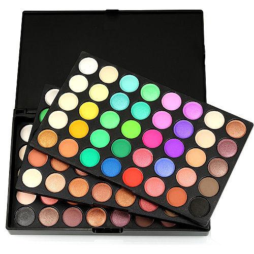 POPFEEL Professional eyeshadow palette 120 colors Maquiagem completa Eyeshadow Natural Super Light Makeup eye shadow pallete set