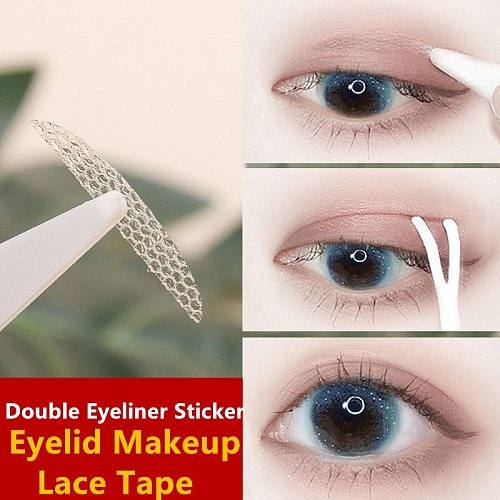 Drooping Eyeliner sticker double eyelid lashes Women fenty beige adhesive Invisible 쌍커풀 lift tape kinesio клейкая лента для век