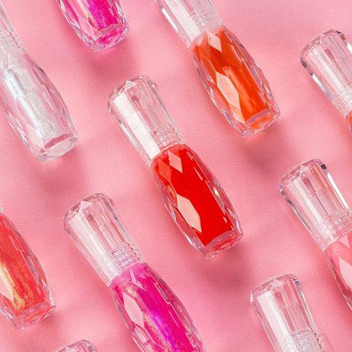 6 Colors Moisturizer Clear Lip Gloss Plumper Glitter Liquid Lipstick Shimmer Nude Crystal Bigger Lip Tattoo Makeup Lipgloss