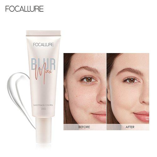FOCALLURE GLOWMAX Face Primer Refreshing Cream Texture Long-lasting For Skin Moisture Tone-up Primer
