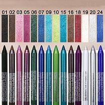 Color Eyeliner Pen Matte Long Lasting Waterproof No Blooming Eye Liner Pencil Makeup Eyeliner Eye Shadow Pen Eye Make Up TSLM1