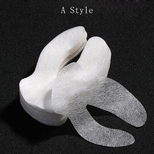 80 Pcs Disposable  Silk Technology DIY Cosmetic Eye Mask Paper Sheet Ultra-thin Beauty salon  Eye Care tools