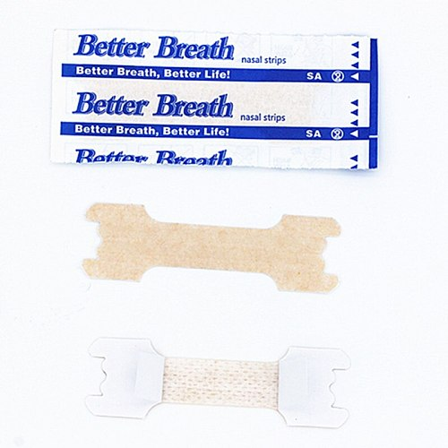 5000pcs/lot (55x16mm) Better Breathe Anti Snoring Snore Nasal Strips Right Way to Stop Snoring