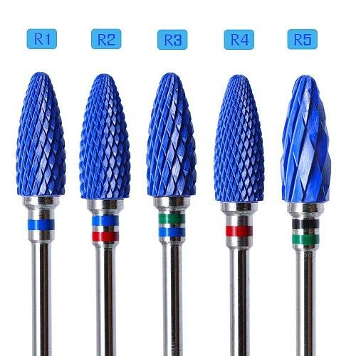 Ceramic Milling Cutter Nail Cutter Drill Bit Electric Manicure Drill Pedicure Drill Bit Machine Filing Nail Art Tool Equipment