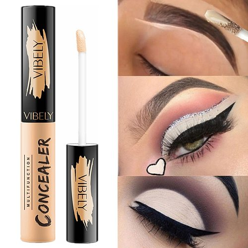 5 Color Eye Concealer Liquid Makeup Base Corrector Full Cover Blemish Eye Anti Dark Circle Concealer Cream Make Up Contour