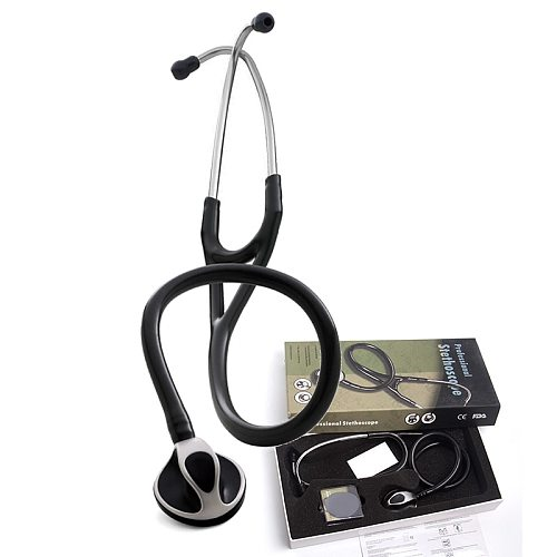 Professional Cute Clinical Acoustical Heart-lung Blood Pressure Stethoscope Cardiology Medical Estetoscopio for Doctors Nurse