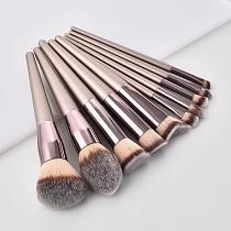 1PC Champagne Makeup Brushes Set For Foundation Powder Blush Eyeshadow Concealer Lip Eye Makeup Brush Cosmetics Makeup Set TSLM2
