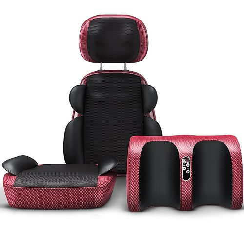 Full body covering cervical massager multi-functional household relaxation treatments shoulder neck waist back chair cushion