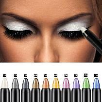 15 Color Highlighter Eyeshadow Pencil Waterproof Glitter Matte Nude Eye Shadow Makeup Pigment Cosmetics White Eyeliner Pen