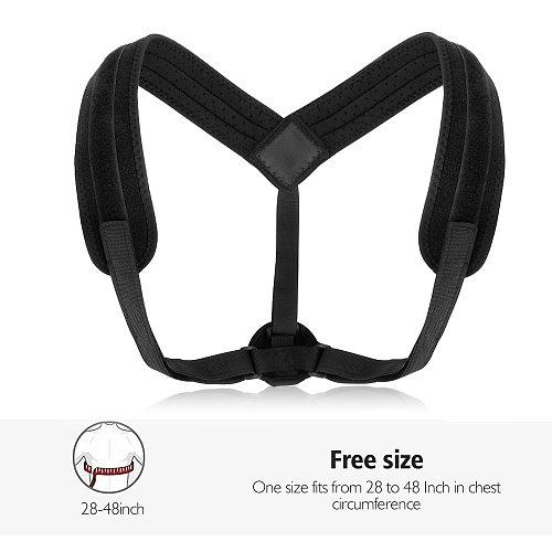 Adjustable Back Posture Corrector Back Intelligent Brace Support Belt Shoulder Training Belt Correction Spine Back Corset Belt