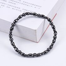 Magnetic Therapy Health Anklet Slimming Bracelet Black Gallstone Weight Loss Stimulating Acupoints Therapy Fat Burning Health