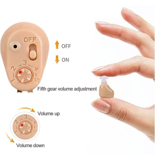 Hot Best Rechargeable MINI Hearing Aids Ear Sound Amplifier Hearing Aids Free Shipping Tiny Voice Aid Droshipping