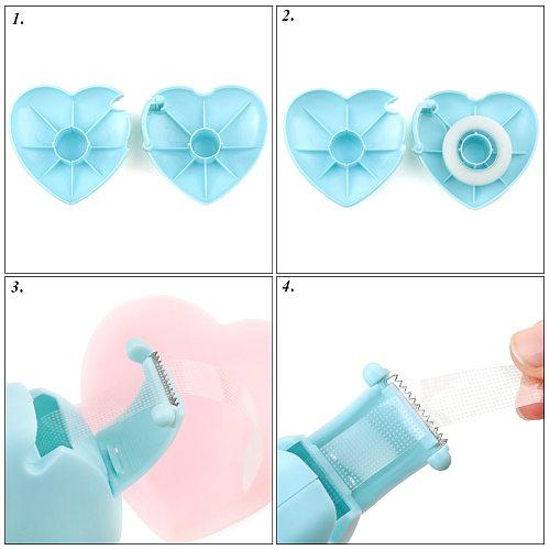 1pcs Cute Convenient Eyelash Tape Split Supply Micropore Paper Medical Tape Split Eyelash extension tool