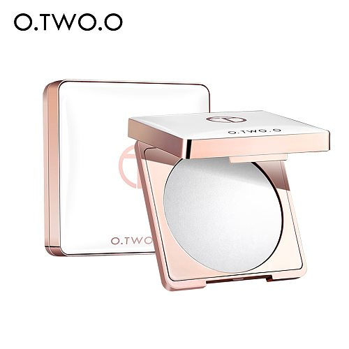 O.TWO.O Makeup Face Pressed Powder Oil Control Setting Powder Soft Smooth Finish Waterproof Face Loose Powder Cosmetic TSLM