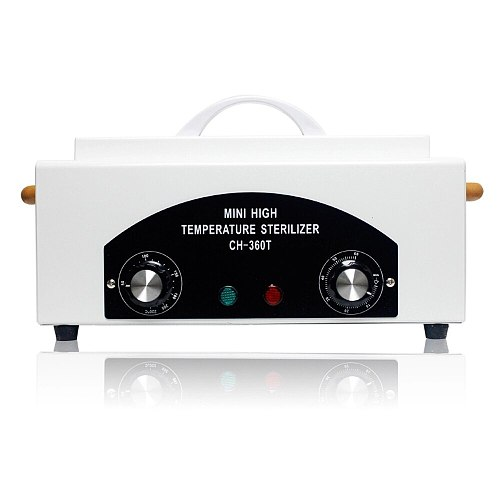 Nail Sterilizer CH360T High Temperature Sterilizer Professional Sterilizing Tool Disinfection Cabinet Box