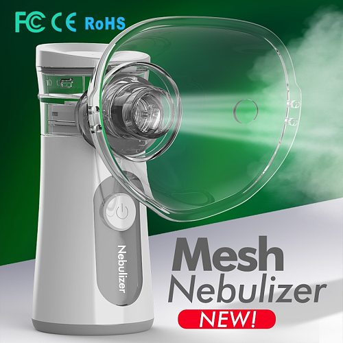 Portable Nebulizer Inhaler Adult Nebulizador Portatil Medical Equipment Home Health Care Inalador Adulto USB charge Humidifier
