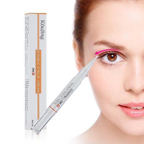 Double Eyelid Shaping Cream Eyelid Lift Invisible Natural Eyelids Glue Lasting Makeup Tools Eyes Styling Shaping Tools
