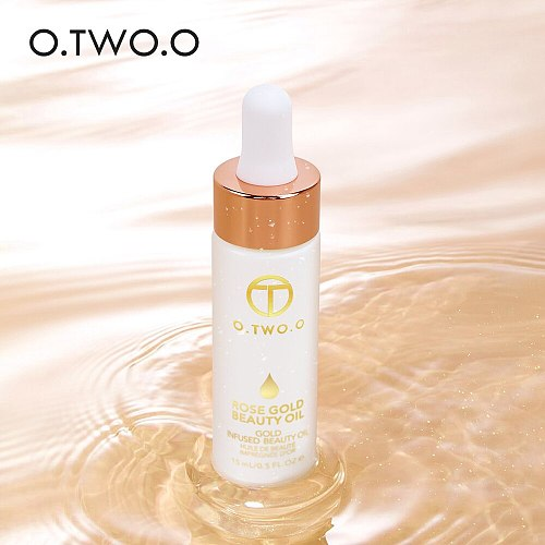 O.TWO.O Face Primer Makeup Base Beauty Oil Makeup Essential Oil Before Foundation Winter Moisturizing Smooth Foundation Base