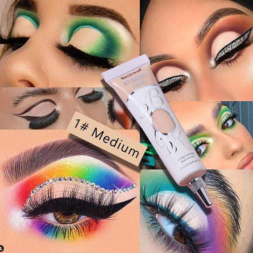 Eyeshadow Primer Cream Fashion Eye Makeup Waterproof Moisturzing Lasting Eyelid Primer Sexy Women Eye Base Cosmetics TSLM1