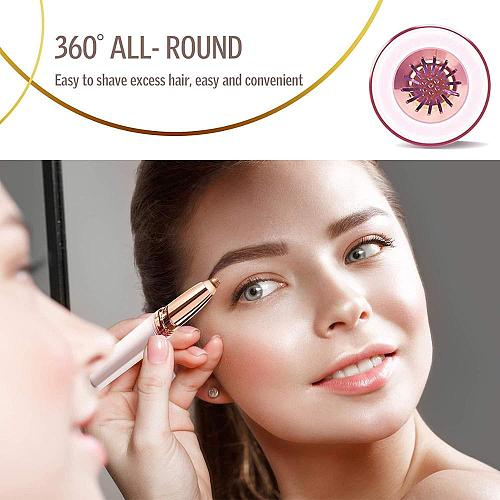 Eyebrow Trimmer Pen Automatic Epilator Eyebrow Electric Female Trimmer Portable Hair Remover Painless Eyebrow Shaper Shaver
