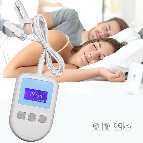 New Stop Snoring CES Sleeping Aids Device Effect on Anxiety Insomnia sleepless Care Anti Depression Cure Migraine Neurosism