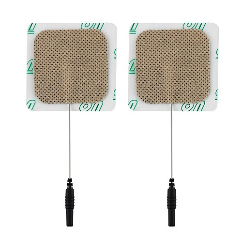 High Quality SDZ-II SDZ-III 10pcs Replacement Pad for Massage stick Tens Units Electrodes Pads 5x5cm D4mmXD2mm