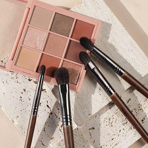 OVW 4Pcs Makeup Brushes cosmetics Tool  Powder Eye Shadow Blending Beauty Makeup Brush Sets Maquiagem