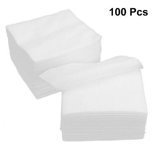 100pcs Non Woven Gauze Sponge Used For Wound Care First Aid Supplies Sterile Gauze Pad(Folded Size 10x10cm, Unfold Size 20x20cm)