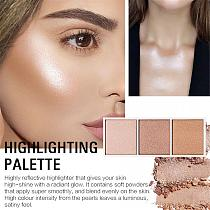 SACE LADY Shimmer Highlighter Palette Makeup Set Brush Face Powder Brushes Professional Make Up Natural Cosmetics Wholesale