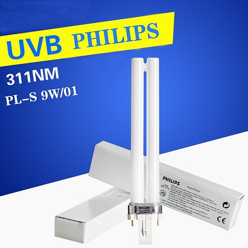 UVB311 9W/01 ultraviolet lamp UVB 9W Wavelength Narrow Spectrum Medical Home Phototherapy Lamp
