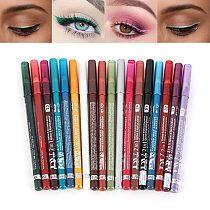 18 Colors Long-lasting Eye Liner Pencil Pigment White Color Waterproof Eyeliner Pen Eye Cosmetics Makeup Tool Eye Shadow Pen